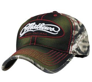 mathews solocam frontier black lost camo cap hat