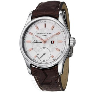 Frederique Constant Mens Vintage Rally Silver Dial Automatic Watch FC