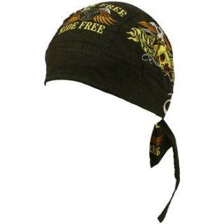 Live Free Ride Free Eagle Bandana Headwrap Headscarf Adjustable Cap