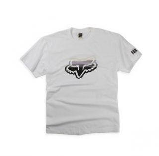 Fox Racing Reformat Short Sleeve T Shirt White Large LG