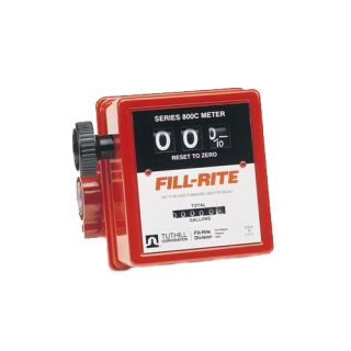 Tuthill Fill Rite FR807CMK Mechanical Fuel Meter 3 4 New