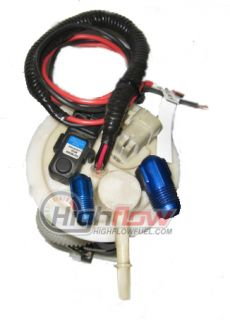 2006 255LPH Double Pumper Dual Fuel Pump Assembly An Fittings