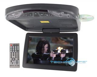 Digital TFT Ceiling Mount Flip Down Monitor DVD USB SD IR