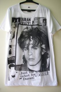 Duran Duran John Taylor 80s New Wave Rock T Shirt M