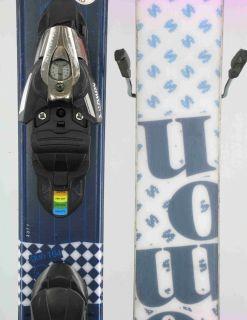 Salomon Used Gun Twin Freestyle Skis w Binding 164cm B