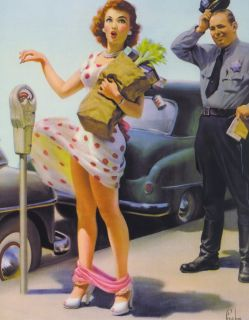 Please click here to view other pinups by Art Frahm or visit our