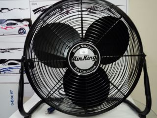 Air King 18 High Velocity Air Circulator Floor Fan 3 Speed Model 9218
