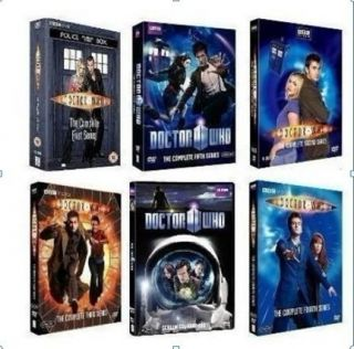 Doctor Who Complete Series 1 6 Seasons 1 2 3 4 5 6 DVD Brand New