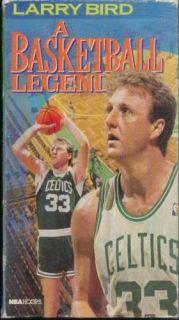 Larry Bird RARE French Lick to Boston Celtics NBA VHS