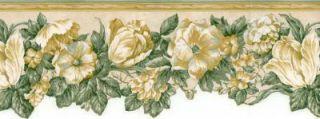 Die Cut Flower Blossoms Wallpaper Border 107909