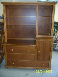 FURNITURE BOOKCASE HUTCH CHEST OF DRAWERS Ex condition Solid Wood