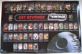 SDCC 2011 Star Wars Revenge of The Jedi Double Poster