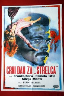 Fifth Cord Franco Nero Italian 1971 EXYU Movie Poster