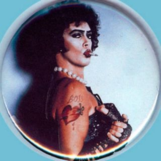 FrankN Furter Rocky Horror Picture Show 2 25 Pin Button Badge Magnet