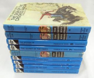 Hardy Boys 9 Book Set Vol. 1 8, 18, 28 Frank Dixon, HB