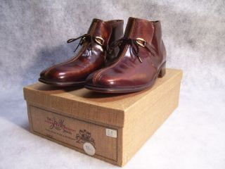 VTG NIB Johnston Murphy Frank Brothers Aristocraft Ankle Boots Shoes 8