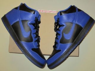 Nike Dunk High 15 Black Royal QS SB Jordan 1 Space Jam Concord 11