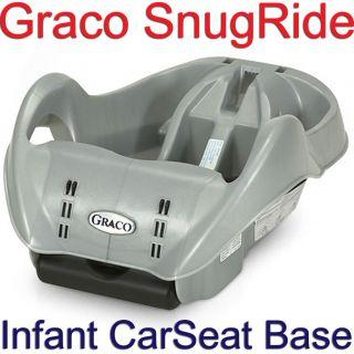 Graco 8402L04 SnugRide Rear Facing Infant Car Seat Base Silver