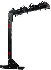 Bicycle Carrier Holds 4 Bikes Fits 2 Hitch Receiver Folds Up