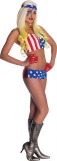 Lady Gaga Costume American Flag Std Standard Upto Size 12