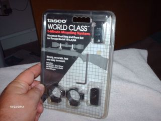 TASCO WORLD CLASS MOUNTING SYSTEM FOR SAVAGE 110 FITS LONG OR SHORT