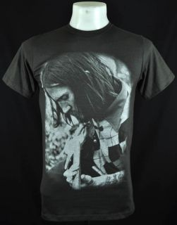 John Frusciante Retro Rock Dark Grey Tee T Shirt Size L