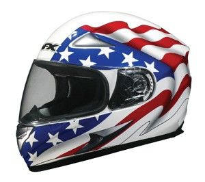 AFX FX 90 Full Face Helmet White Freedom M/Medium