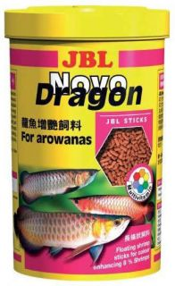 JBL Novo Dragon Shrimp German Premium Arowana Food Tested 1 Litre Tub