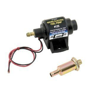 Mr Gasket Electric Fuel Pump Micro 35 GPH Product 12S Carb