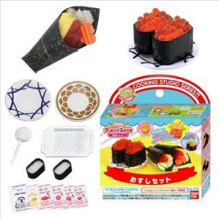 Rolled Sushi Set Japanese Sample/Replica Food Making Kits F/S BNIP