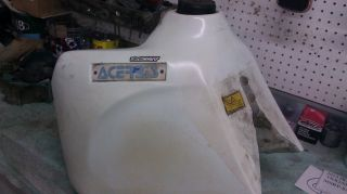 Used acerbis desert fuel tank with parts off a 1997 XR650L (may fit