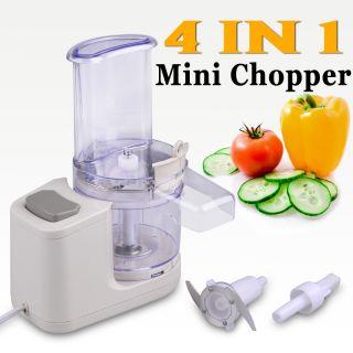 Electric Food Processor Meat Chopper 420J Stainless Steel Blade Slicer