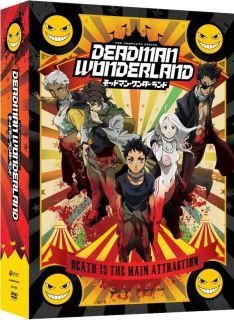 Deadman Wonderland Complete Series (Limited Edition) Anime DVD R1