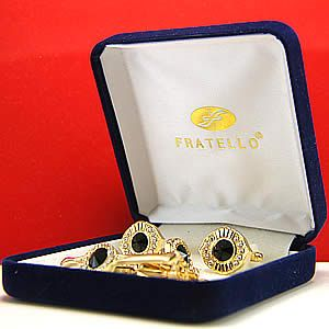Brand New High Quality Stainless Steel Fratello Cufflink