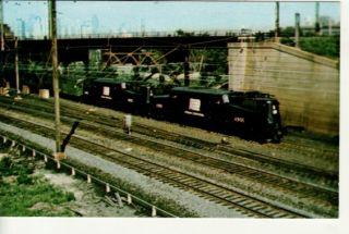POLITICAL ROBERT KENNEDY FUNERAL TRAIN Philadelphia PA postcard