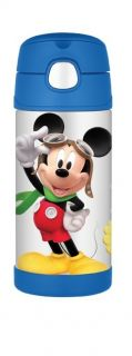 Mickey Mouse Thermos Funtainer Stainless Steel Kids 12oz Insulated