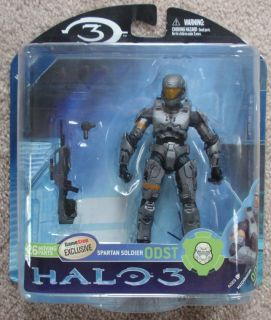 HALO STEEL SPARTAN ODST GAMESTOP EXCLUSIVE ACTION FIGURE by McFARLANE