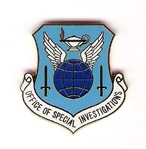Air Force Office of Special Investigations Hat Pin