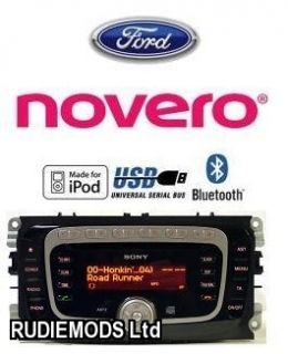 Ford C Max 08 on Bluetooth Phone Kit iPod USB Add on for Factory Sony