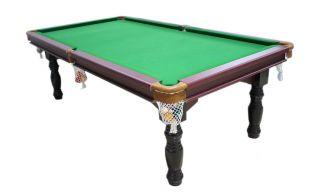 Pool Table 8ft Snooker Billiard Free Table Tennis Top