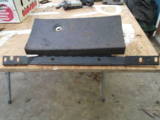 1969 1970 Ford Mustang Cougar Mach 1 Eliminator XR7 Glove Box Assembly