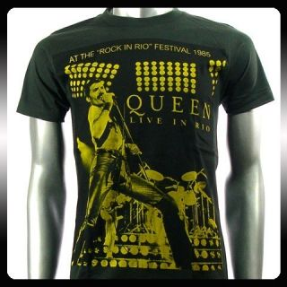 Freddie Mercury The Queens Rock Punk T shirt Sz M