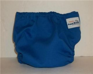 FUZZI BUNZ SIZE MEDIUM BLUE INSERT INCLUDED FUZZI BUNZ DIAPER