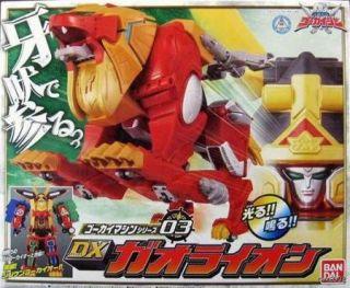 Bandai Gokai Machine 03 DX Gao Lion Kaizoku Sentai Gokaiger