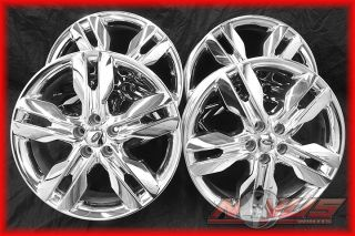 20 FORD EXPLORER SPORT TRAC FACTORY OEM CHROME WHEELS 18 22
