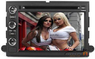 2007 08 09 Ford Explorer Sport Trac DVD GPS Navigation Radio Sirius