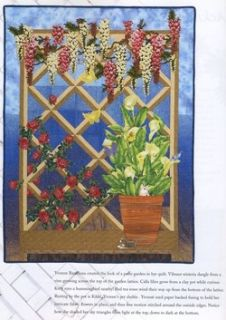 Quilt in A Day Garden Lattice Quilts Quilting Patterns