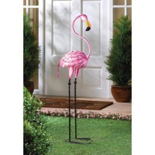 Tropical Tango Pink Flamingo Bird Yard Art Garden Decor Statue