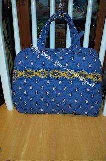 Vera Bradley French Blue Essentials Hanging Organizer