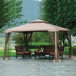 Big Lots 10 x 12 Arrow Gazebo Replacement Canopy and Netting